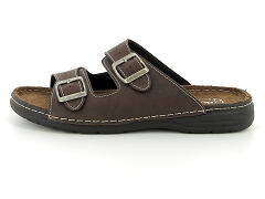 SONAR INDIAN W TAN COGNAC PAUL 636:Marron/Moro/Cuir/Textile/Plat