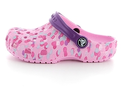 ELLIS IVY 26132003 TAN C CLASSIC CLOG KID CDY PI 204536:Rose/Candy pink/Synthétique/Synthétique/Plat