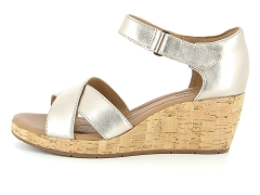 ADEFLEUR UN PLAZA CROSS 26132325 G:Or/Gold metallic/Cuir/Cuir/6 cm