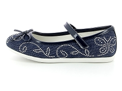 ARVIERGE 639 MGELIOS 110 532  NAVY:Bleu/Navy/Cuir/Synthétique/Plat
