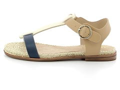VS ADVANTAGE CLEAN ARMI CODE SUNSET_N:Bleu/Marine beige/Cuir et Textile/Synthétique/Plat