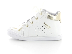 865160C CHUCK TAYLOR PINK BABALI 1B9331 1 001 FASTY:Blanc/White gold/Cuir/Cuir/Plat