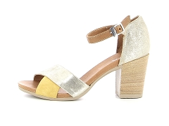 SHEJUP 383 704 1 ALF PAGEPI 9022 NUDE YELL:Or/Nude/Cuir/Cuir/7 cm