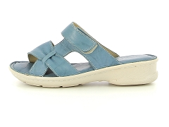 IGARBOK 261 704 ROSE MAGARDA 016204 DENIM:Bleu/Denim/Cuir/Cuir/4 cm