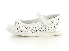 THENUPI 2 879527 PEWTER MGPAL 110524 WHITE:Blanc/White/Cuir/Synthétique/Plat