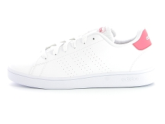 SNEAKER SET WASH VS ADVANTAGE CLEAN K BB9976:Blanc/Blanc rose/Textile/Textile/Plat