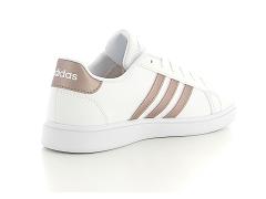 Adidas grand court k blanc   baskets sneakers tennis enfant ...