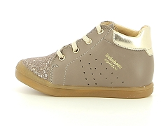 ALFIONA 83213 BLK BAB FASTY TAUPE:Taupe/Taupe/Cuir/Cuir/Plat