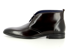CLASSIC LINED CLOG K NAVY AZZ ISSARD CHATAIGNE:Marron/Chataigne/Cuir/Cuir et textile/2,5 cm