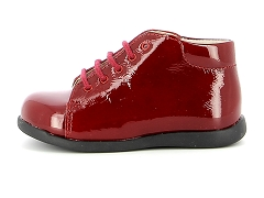 ESILLE 2119 R77 BO UVERNIS ROUGE:Rouge/Rouge/Cuir/Cuir/Plat