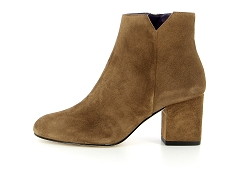 NEW OREGON VORE0012S CAME VIRGIN VELOURS RHUM:Marron/Camel/Cuir/Cuir/6,5 cm