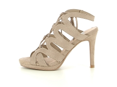 XTMI 35209 TAUPE<br>Taupe Taupe Cuir Synthétique 10 cm