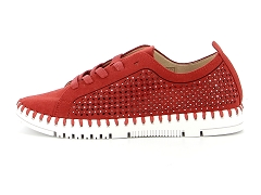 JIDIOMA TAIMOUSCO LC 7935 LC:Rouge/Red/Cuir/Synthétique/Plat