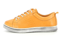 DESERT LONDON 26133277 MI ESTMARI BASKET BAS:Orange/Orange/Cuir/Cuir/Plat