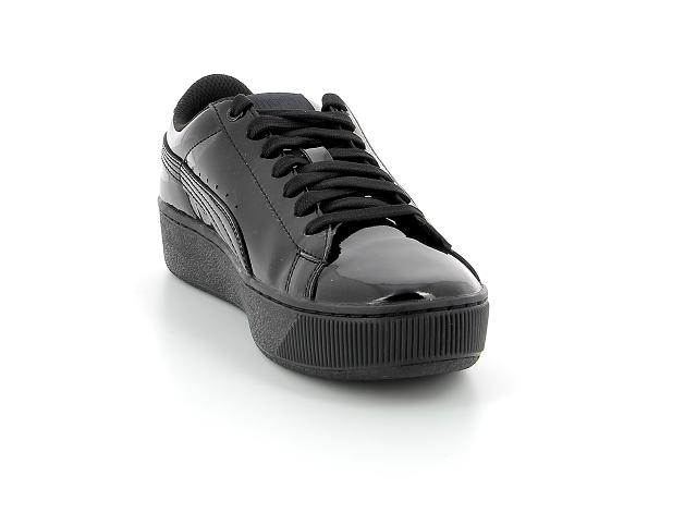 Puma wns vikky vernis noir   baskets sneakers tennis femme ...