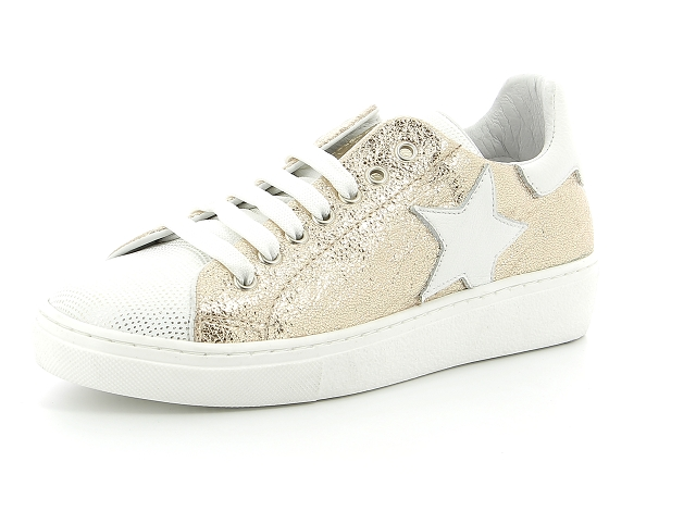 Reqins stella or   baskets sneakers tennis femme   ChaussGalerie