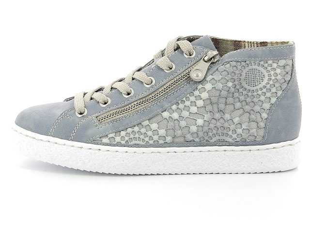 Rieker Femmes Sneaker Bleu