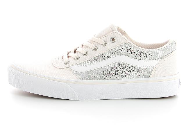chaussure vans argent