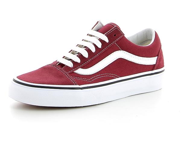 Vans old skool rouge | baskets sneakers tennis enfant