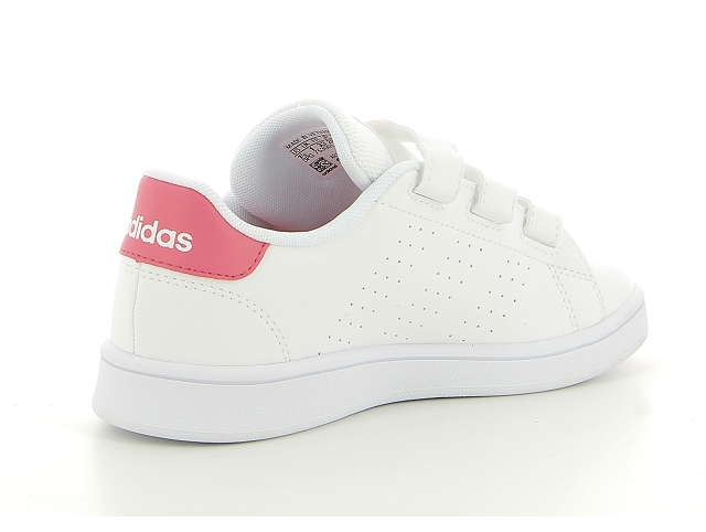 Adidas advantage clean blanc8253601_4