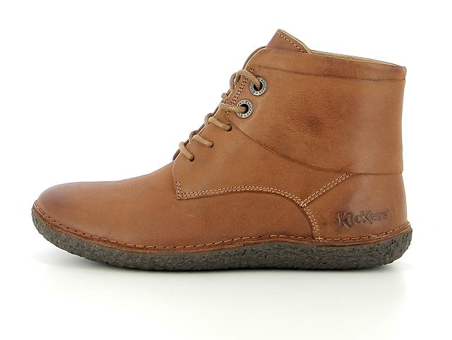 Kickers hobbytwo marron | boots bottines chelsea femme