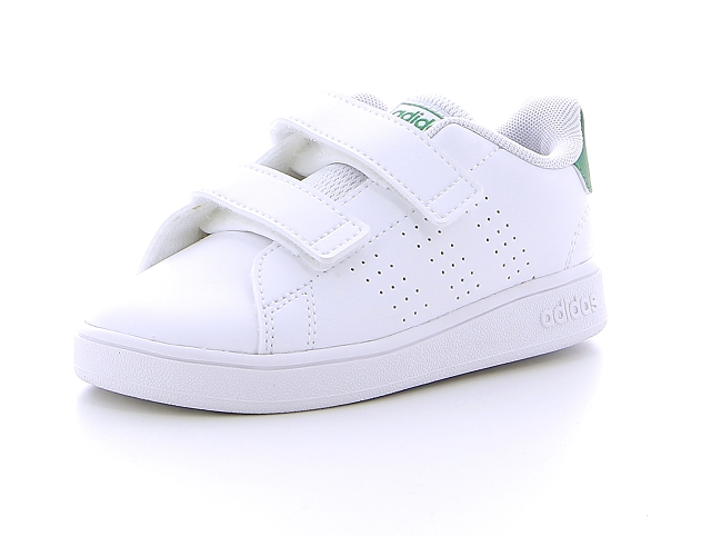 Adidas advantage clean blanc9124401_2