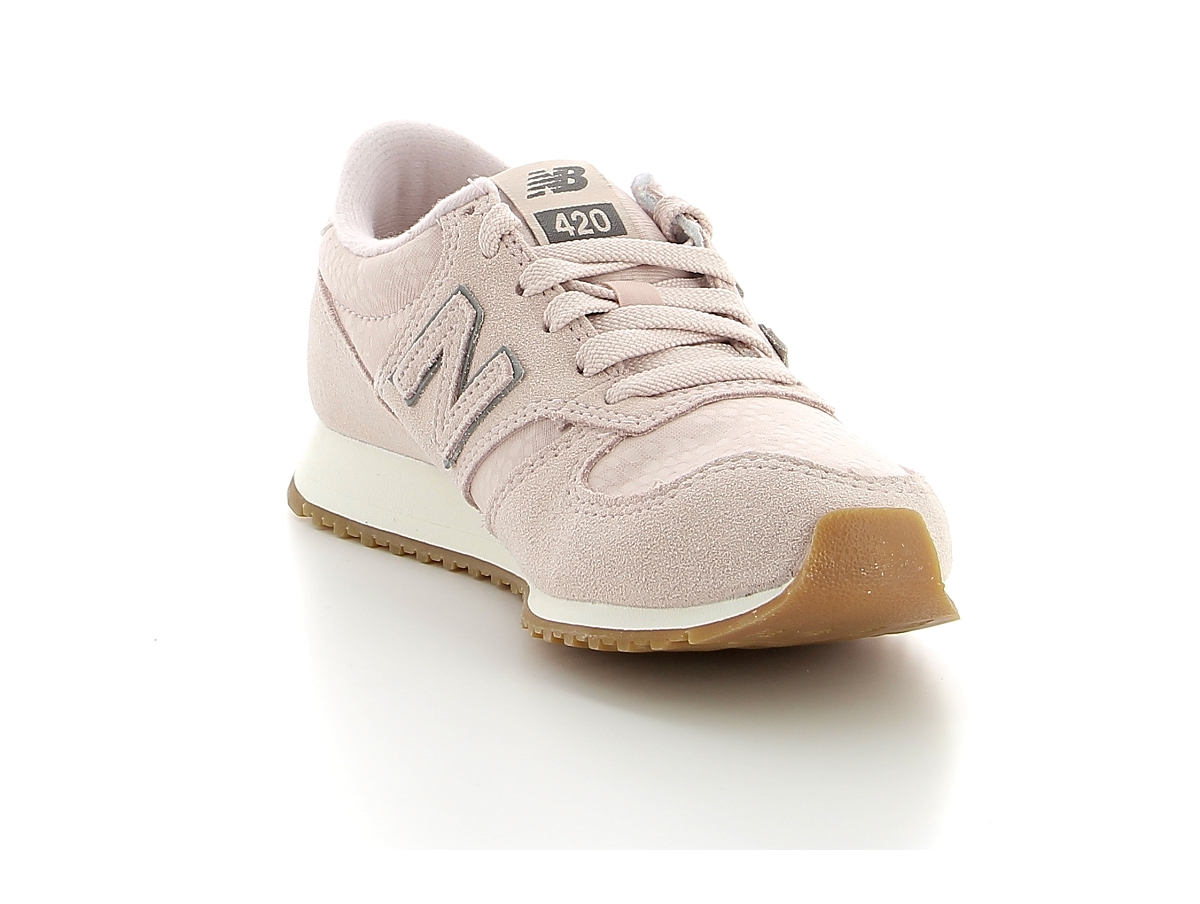 New balance wl 420 rose | baskets sneakers tennis femme ...