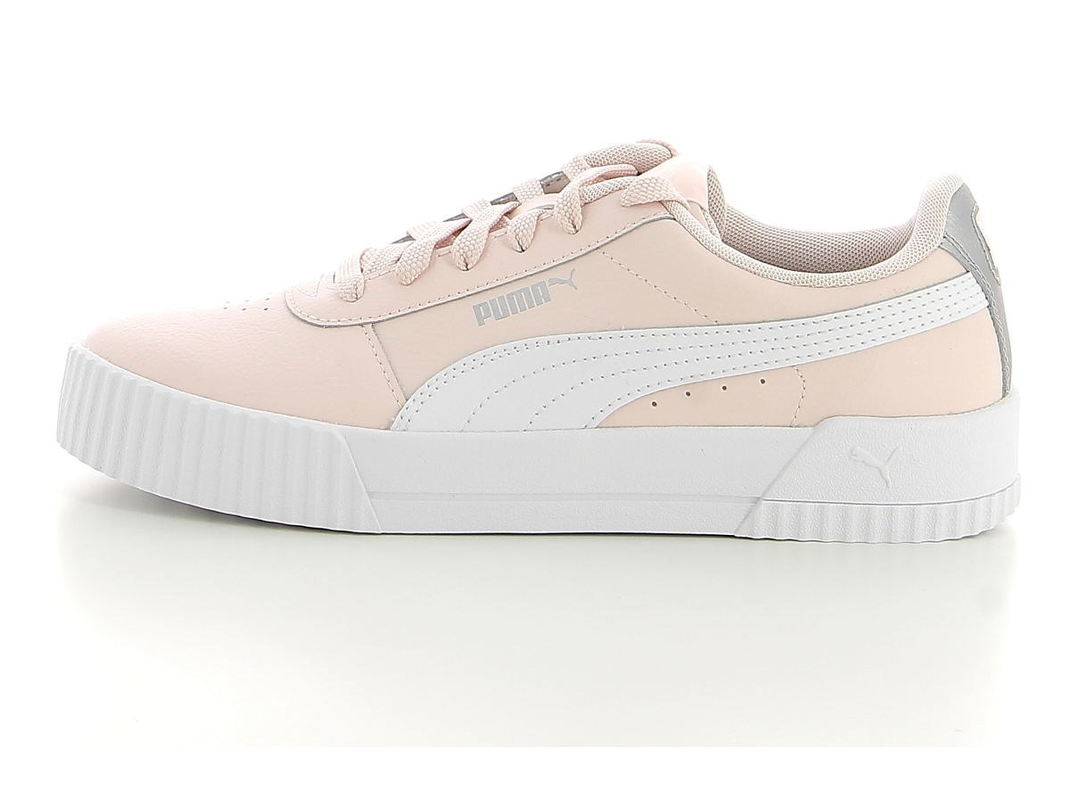Puma carina l jr rose | baskets sneakers tennis enfant | ChaussGalerie